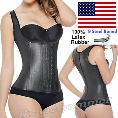 5475926c34a FULL VEST LATEX Ann Michell 2027 Classic Waist Trainer Colombian ...