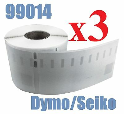 3 x Rolls Labels for Dymo Seiko 99014 54mm x 101mm LabelWriter 450/450 Turbo