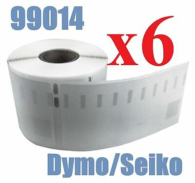 6 x Rolls Labels for Dymo Seiko 99014 54mm x 101mm LabelWriter 450/450 Turbo