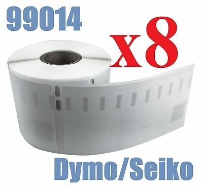 8 x Rolls Labels for Dymo Seiko 99014 54mm x 101mm LabelWriter 450/450 Turbo