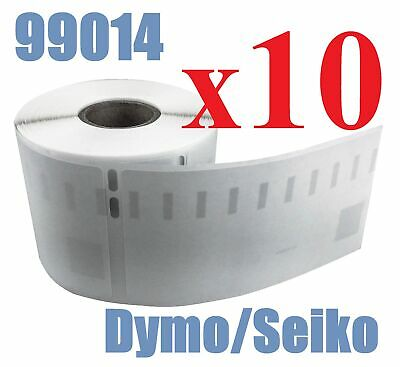 10 x Rolls Labels for Dymo Seiko 99014 54mm x 101mm LabelWriter 450/450 Turbo