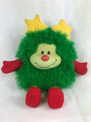 Vintage 1983 Rainbow Brite Lucky the Green Sprite Plush Toy Doll