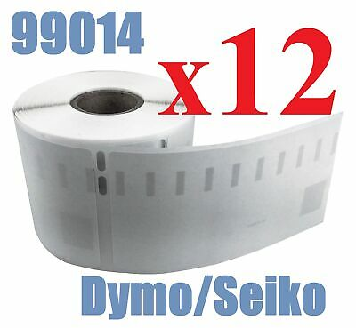 12 x Rolls Labels for Dymo Seiko 99014 54mm x 101mm LabelWriter 450/450 Turbo