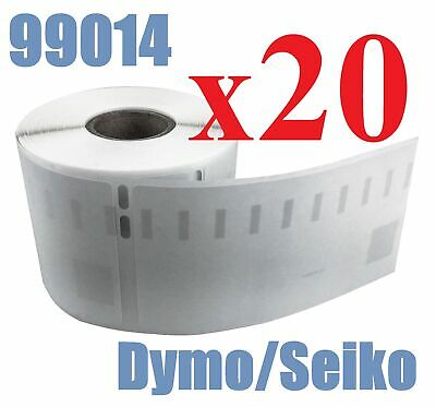 20 x Rolls Labels for Dymo Seiko 99014 54mm x 101mm LabelWriter 450/450 Turbo