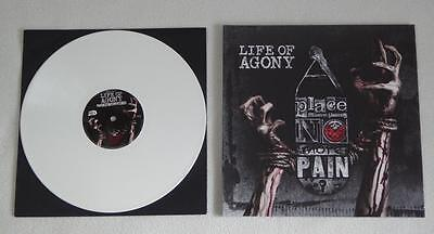 LIFE OF AGONY - A Place Where There's No More Pain - 1 LP Ltd. Ed. White Vinyl