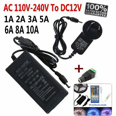 AU Power Supply Adapter 12V 1A 2A 3A 5A 6A 8A 10A Transformer For String Lights