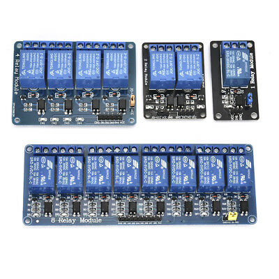 5V 1/2/4/8 Channel Relay Board Module Optocoupler LED for Arduino PiC ARM AVR FS