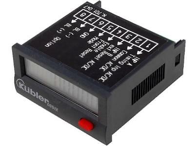 CODIX-LCP-3 Counter electronical working time Display LCD -10÷60°C KUBLER