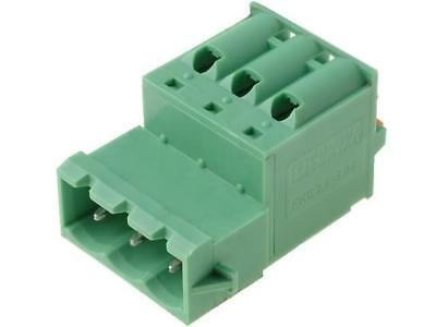 FKIC2.5/3-5.08 Pluggable terminal block plug male for latch PHOENIX CONTACT