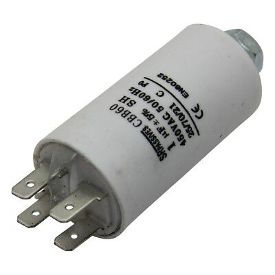 CBB60E-1/450 Capacitor motors, run 1uF 450V Ø30x57mm -25÷70°C ±5%