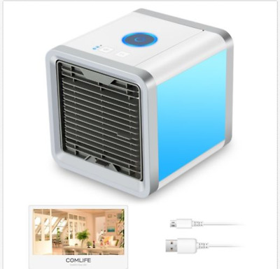 NEW Portable Mini Air Conditioner Cool Cooling For Bedroom Air Cooler Fan AU