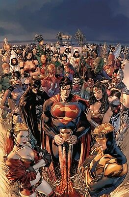 Heroes In Crisis #1 - Dc Universe - Release Date 26/09/18