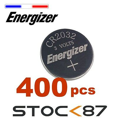400 piles Energizer Pile Bouton CR2032  - Pack CR 2032