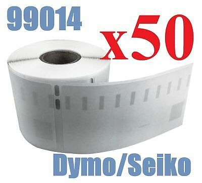 50 x Rolls Labels for Dymo Seiko 99014 54mm x 101mm LabelWriter 450/450 Turbo