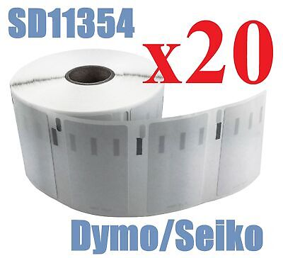 20 x Rolls Labels for Dymo Seiko 11354  57mm x 32mm LabelWriter 450/450 Turbo