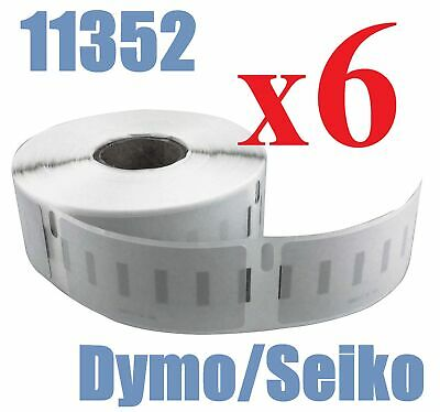 6 x Rolls Quality of Compatible Labels Dymo Seiko  SD11352 11352 25mm x 54mm