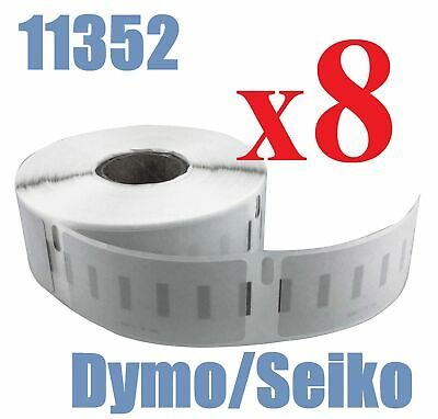 8 x Rolls Labels for Dymo Seiko SD11352 25mm x 54mm /500 LabelWriter Printer