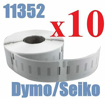 10 x Rolls Labels for Dymo Seiko 11352  25mm x 54mm LabelWriter 450/450 Turbo