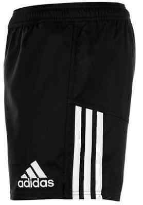 Adidas 3 Stripe Training Shorts Climacool Rugby Large L BNWT