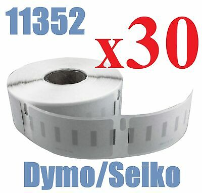 30 x Rolls Labels for Dymo Seiko SD11352 25mm x 54mm /500 LabelWriter Printer