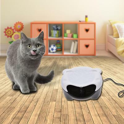 For Cat Dog Pet Feeders Automatic Luminous Electric Water Dispenser Fountain