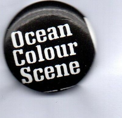 OCEAN COLOUR SCENE BUTTON BADGE BRITISH INDIE ROCK BAND Riverboat Song 25mm Pin