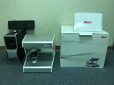 Nobel Procera Dental Laboratory Optimet Scanner Package