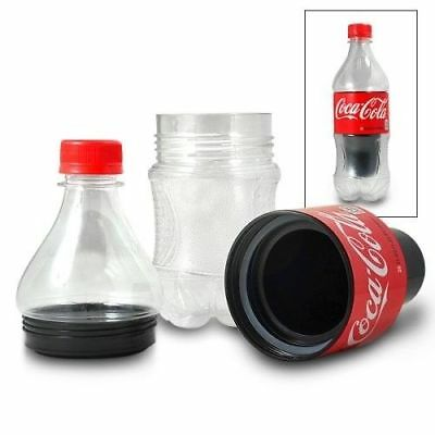 Large Coke Bottle Stash Safe Can Hidden Diversion Secret Hiding Car Safes Hide
