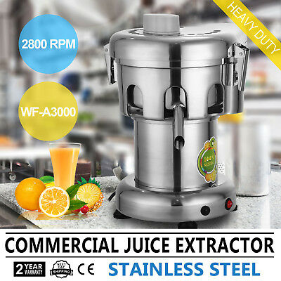 Commercial Juice Extractor Machine Stainless Steel Electric Juicer Squeezer