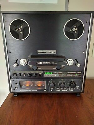 Teac x-1000 R, Reel to Reel Tape Deck, auto reverse, 4-track, 2-channel