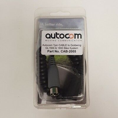Autocom 2055 7 Pin Cable To Goldwing GL1500 And 1800 Bike System