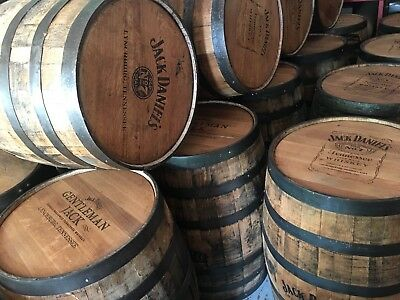 Jack Daniels Whiskey Barrels