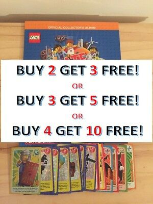 Sainsbury's Lego Cards 2018 Incredible Inventions **buy Any 4 Get 10 Free!!**