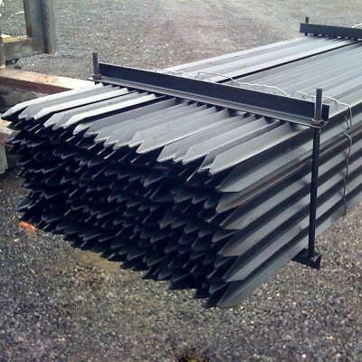 Brand New Star Pickets Various Sizes Available, Black & Galvanised, Hot Products