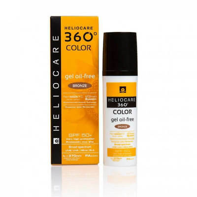Heliocare 360 Gel Oil-Free Color Bronze SPF 50+ Fernblock FC 50ml