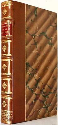 Scarce 1836 The Wonders Of The Universe Engravings Fold Outs Beautiful Near Fine