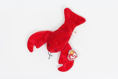 8d637adbc08 RARE TY BEANIE Baby Pinchers the Lobster - Tag Errors   PVC Pellets ...