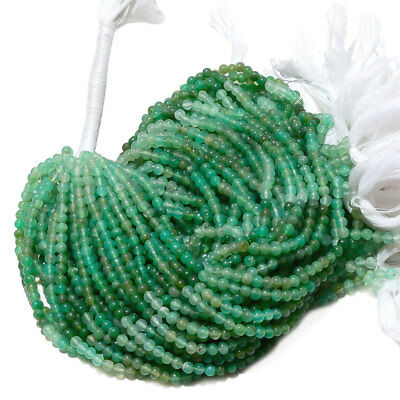 5 Strands AAA Chrysoprase Round Beads 4mm Round Beads 13.5 Inch Strand AA23