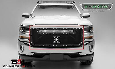 T-Rex 6311281-BR Torch LED Light Grille for 2016-2019 Chevrolet Silverado 1500
