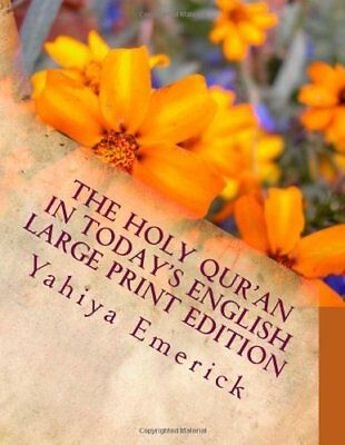 The Holy Quran in Todays English Large Print Edition