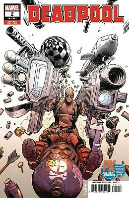 SDCC 2018 Deadpool #2 MARVEL Comics PX Previews Exclusive Variant NM