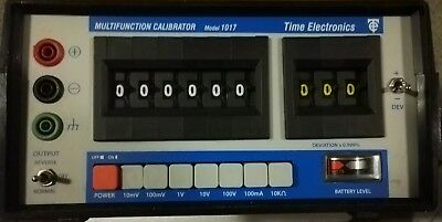 Time Electronics 1017 Portable Multifunction Calibrator