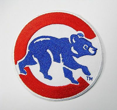 Lot Of (1) Mlb Chicago Cubs Baseball Patch Type (C) Item # 55