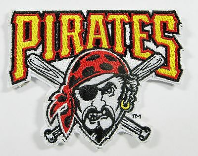 Lot Of (1) Mlb Pittsburgh Pirates Embroidered Patch Patches Item # 64