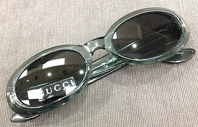 0845d46f26f Gucci Vintage Green Translucent Ladies Oval Sunglasses GG 2419 N S E6W