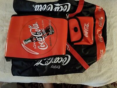 Cola Coke back pack , it came form the coke rep. 29 years ago. Very rare