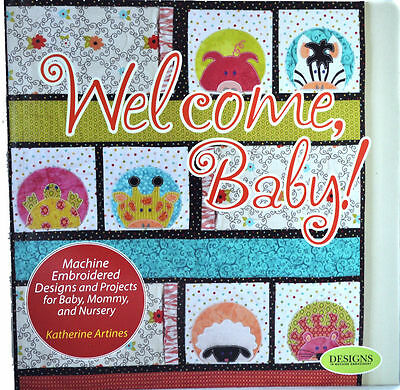 Katherine Artines Welcome Baby Sewing Book