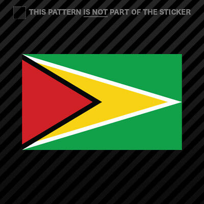 2x Guyanese Coat of Arms Cell Phone Sticker Mobile Guyana flag GUY GY