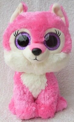 4db21251053 Rare Ty Beanie Boos Boo Soft Plush Toy Sierra the Pink Great Wolf Lodge Excl