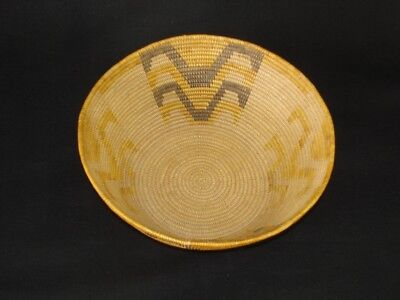 A very nice and finely woven Mission, Native American Indian basket, c.1915
